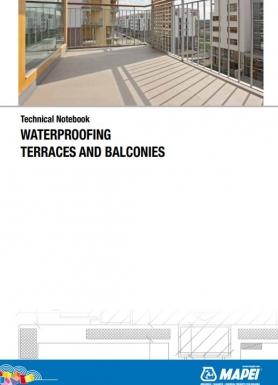 Terašu un balkonu hidroizolēšana - rokasgrāmata