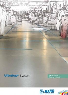 Dekoratīvās betona grīdas ar ULTRATOP