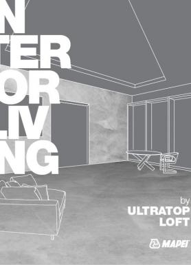 ULTRATOP LOFT - īpaši dekoratīvi grīdu pārklājumi