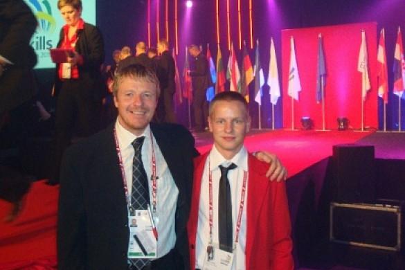 """EuroSkills starptautiskajā konkursā izmanto MAPEI materiālus - konkursu vērtē """"Velve M.S. Tehnoloģijas"""" valdes priekšsēdētājs Agris Kreislers"""