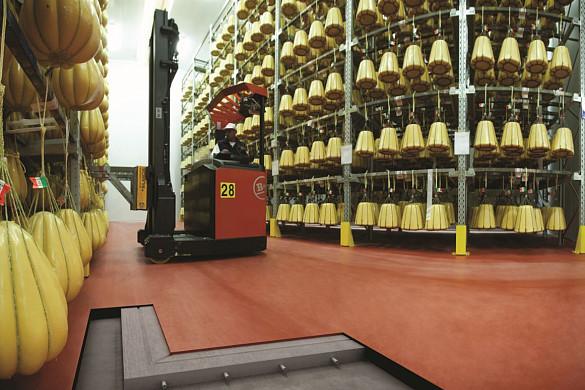 MAPEI sveķu bāzes sistēmas industriālajām grīdām