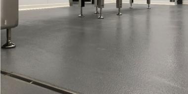RIMI loģistikas centra virtuves ceha grīda