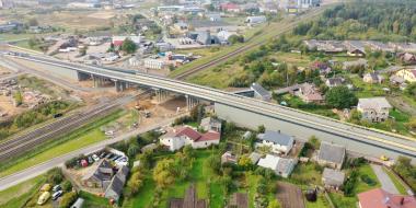 Viadukts pār dzelzceļu, Lietuva, Mažeiķi