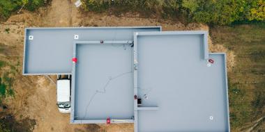 PVC jumta hidroizolācija privātmājai Madonā