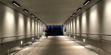 Gājēju tunelis Ogrē