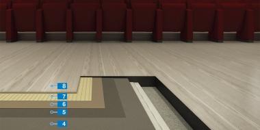 LVT / Dizaina grīdas segums uz peldošās pamatnes