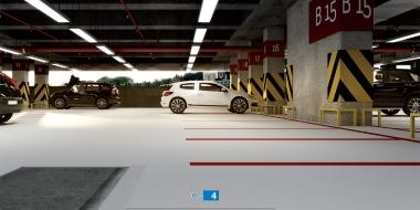 Mapefloor Parking System PU / PD PARK: Poliuretāna pārklājums iekštelpu autostāvvietu hidroizolēšanai
