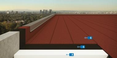 2 slāņu asfalta jumta segums gan jaunbūvei, gan jumta seguma atjaunošanai