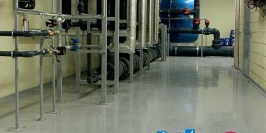 Mapefloor EP W: Ūdens bāzes epoksīda krāsa rūpnieciskām telpām un noliktavām
