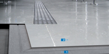 Mapefloor CPU/RT: Poliuretāna-cementa bāzes augstu temperatūru noturīgs pārklājums