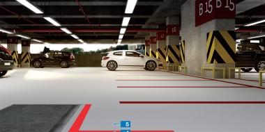 Mapefloor Parking System PU / PD mPARK: Poliuretāna pārklājums iekštelpu autostāvvietu hidroizolēšanai