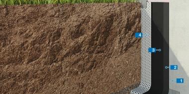 Zem zemes esošu konstrukciju hidroizolēšana