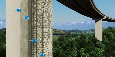 Tilta pilāru un balstu remonts un aizsardzība