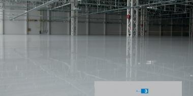 Mapefloor EP SL: Bezšuvju epoksīda pārklājums (ar gludu virsmu) rūpniecības telpās un noliktavās