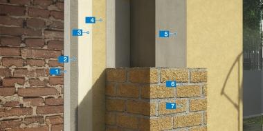 Mūra apmetuma un dekoratīvā pārklājuma izveide
