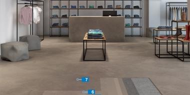 Ultratop Loft - dekoratīvs cementa bāzes pārklājums sienām un grīdai - komerciālām telpām
