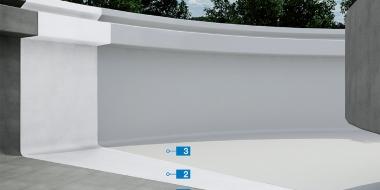 Purtop 1000: Augstas elastības poliuretāna membrāna ūdens rezervuāriem