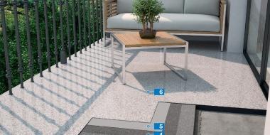 Mapefloor PU Balcony - poliuretāna pārklājums balkonam