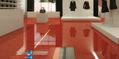 Mapefloor EP Compact: Dekoratīvs epoksīda pārklājums industriālām un komerciālām grīdām