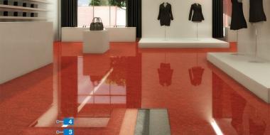 Mapefloor EP Compact: Dekoratīvs pārklājums ar krāsainām smiltīm komerciālām telpām