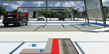 Mapefloor Parking System PU / PD mDRIVE: Poliuretāna pārklājums atklātu autostāvvietu hidroizolācijai