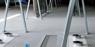 Ultratop: Cementa bāzes pašizlīdzinošs un dekoratīvs grīdas pārklājums