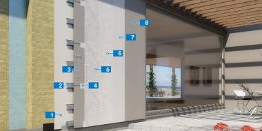 Mapetherm Nordic Flex - ātri izveidojama ventilējamās fasādes sistēma