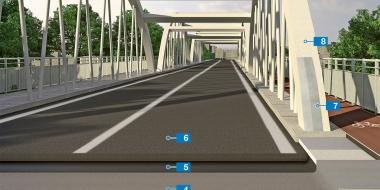 Mapefloor I 914: Blīvēšana ar epoksīda produktiem tilta konstrukcijai