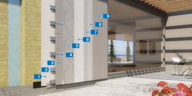 Mapetherm Nordic C - ventilējamās fasādes sistēma