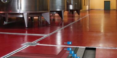 Mapefloor EP SL S: Neslīdošs epoksīda pārklājums tehniskām telpām