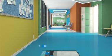 Mapefloor Comfort AL / X: Soļu radītā trokšņa izolējošs,UV stabils poliuretāna bāzes pārklājums