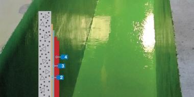 Mapecoat EP SEW: Epoksīda bāzes pārklājums notekūdeņu attīrīšanas iekārtām un ķīmiskās rūpniecības telpām